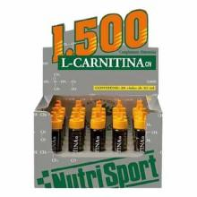 Nutrisport L Carnitin 1500 20 Einheiten Orange