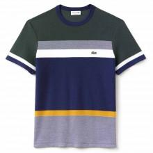 Lacoste Crew Neck Colorblock Honeycomb Jersey