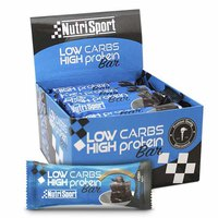 Nutrisport Low Carbs High Protein Bar Brownie 16 Units