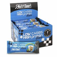 Nutrisport Low Carbs High Protein Bar Irish Cream 16 Units