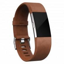 Fitbit Alta HR Leather Strap Brown buy and offers on Smashinn