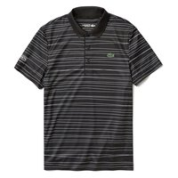 Lacoste Sport Striped Printed Breathable Pique