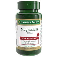 Natures bounty Magnesium 250mgr 100 Units