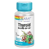 Solaray Thyroid Blend SP-26 100 Einheiten