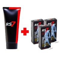 Rs7 Fisio Forte Cream+Joints Plus 30 Capsules 3 Units