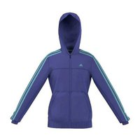 adidas Essentials Full Zip Hoodie Junior Power